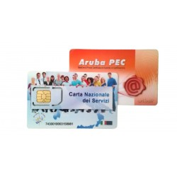 Rinnovo firma digitale con nuova smartcard CNS 3 anni
